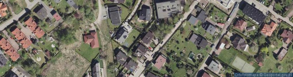 Zdjęcie satelitarne Dzwonkowa ul.