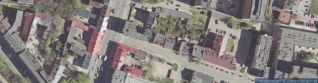Zdjęcie satelitarne Dzierzkowska ul.