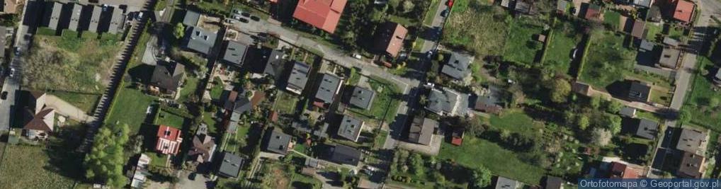 Zdjęcie satelitarne Dziewanny ul.
