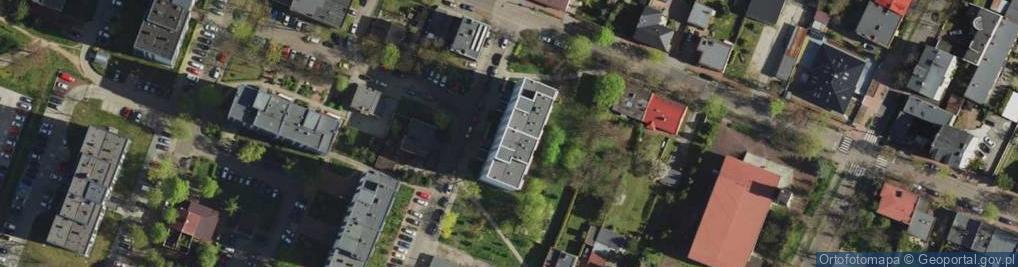 Zdjęcie satelitarne Dziewicza ul.