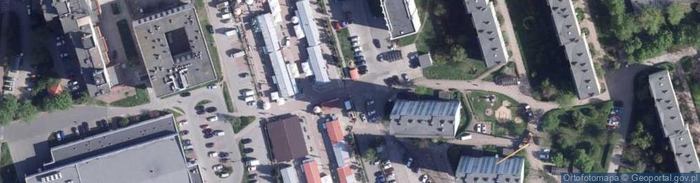 Zdjęcie satelitarne Działowskiego Zygmunta ul.