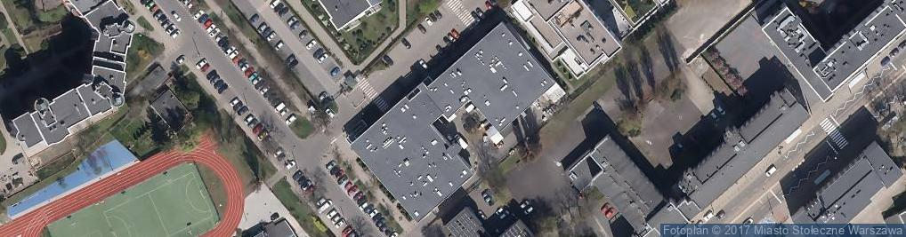 Zdjęcie satelitarne Dzika ul.