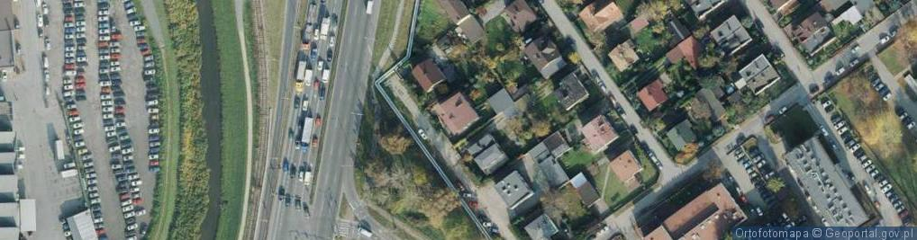 Zdjęcie satelitarne Edisona Thomasa ul.