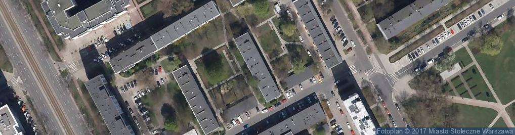 Zdjęcie satelitarne Edelmana Marka ul.