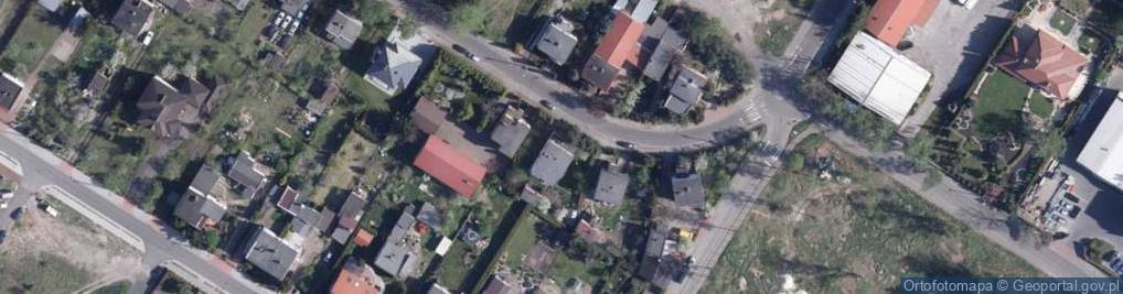Zdjęcie satelitarne Elbląska ul.