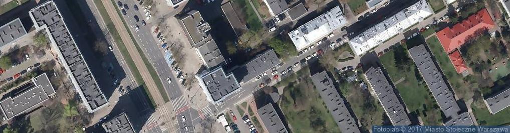 Zdjęcie satelitarne Elektoralna ul.
