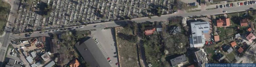 Zdjęcie satelitarne Elżbiety Rakuszanki ul.