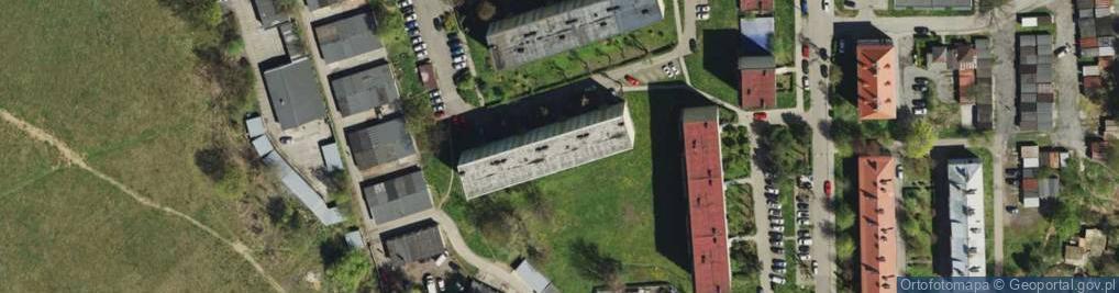 Zdjęcie satelitarne Energetyki ul.