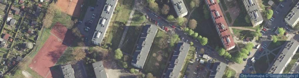 Zdjęcie satelitarne Energetyków ul.