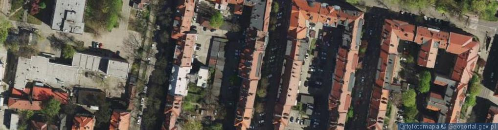 Zdjęcie satelitarne Estreichera Karola ul.