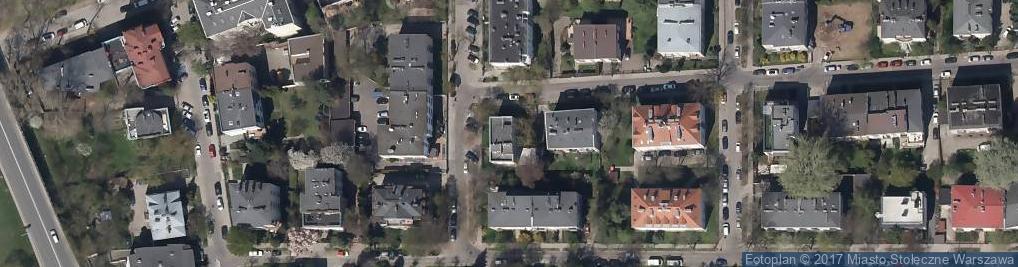 Zdjęcie satelitarne Estońska ul.
