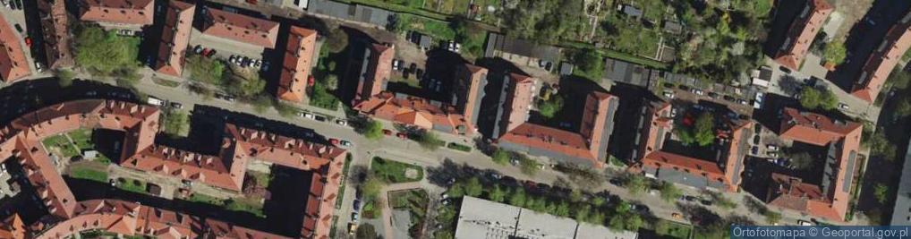 Zdjęcie satelitarne Fałata Juliana ul.