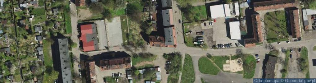 Zdjęcie satelitarne Falista ul.