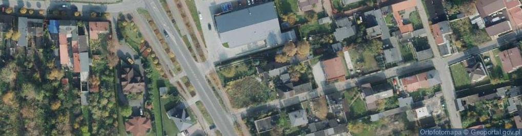 Zdjęcie satelitarne Faradaya ul.