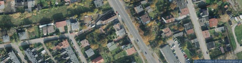 Zdjęcie satelitarne Faradaya Michaela ul.