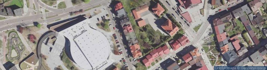 Zdjęcie satelitarne Farna ul.