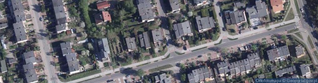 Zdjęcie satelitarne Fasolowa ul.
