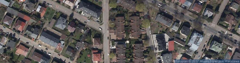 Zdjęcie satelitarne Fantazyjna ul.