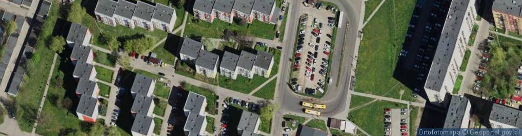 Zdjęcie satelitarne Felińskiego Alojzego ul.