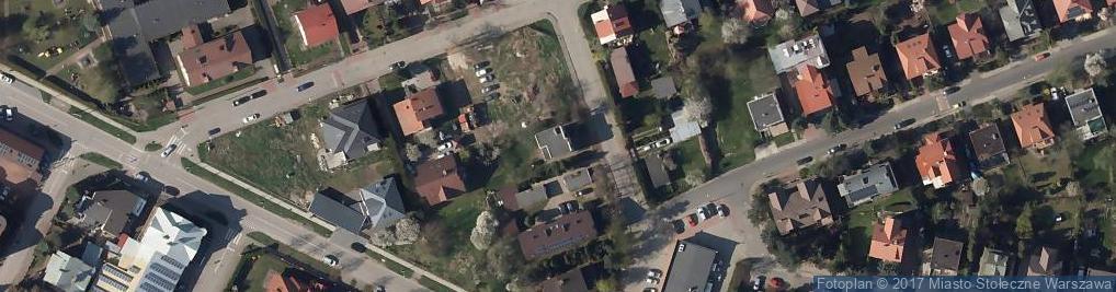 Zdjęcie satelitarne Fersta Mieczysława ul.