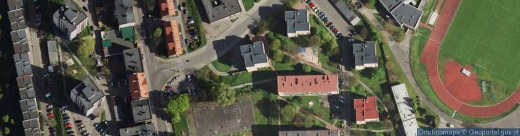 Zdjęcie satelitarne Filarowa ul.