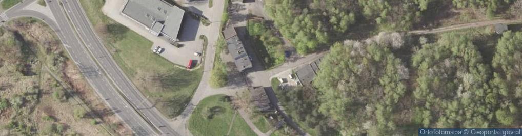 Zdjęcie satelitarne Filaretów ul.