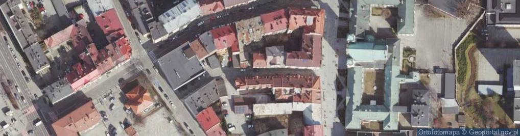 Zdjęcie satelitarne Fircowskiego ul.