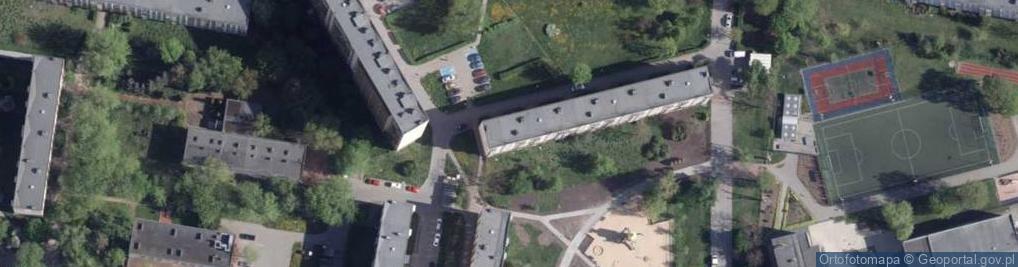 Zdjęcie satelitarne Filomatów Pomorskich ul.
