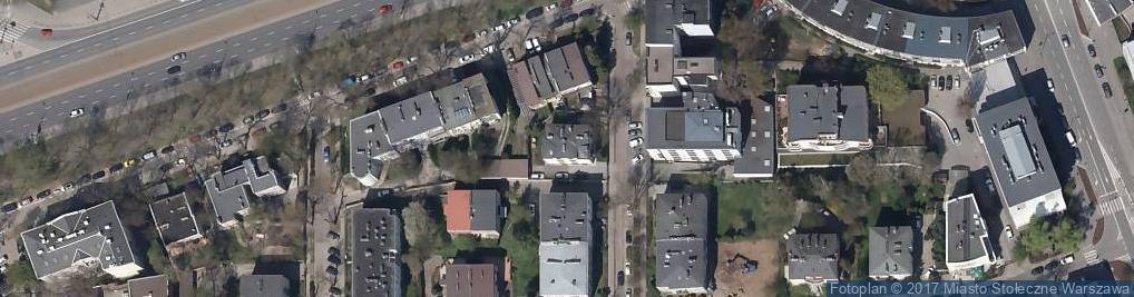 Zdjęcie satelitarne Finlandzka ul.