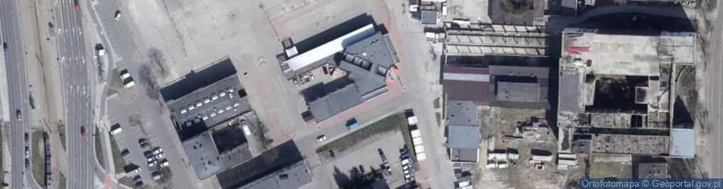Zdjęcie satelitarne Flisacka ul.