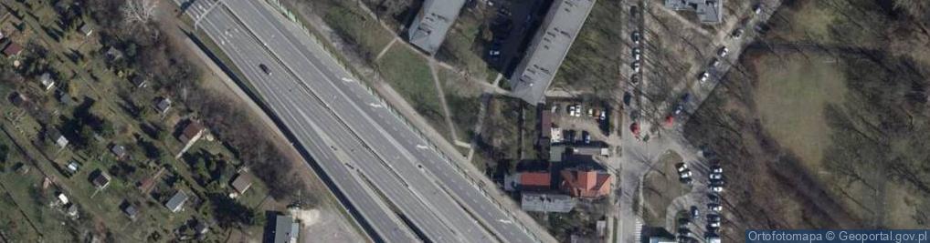 Zdjęcie satelitarne Flatta Oskara ul.
