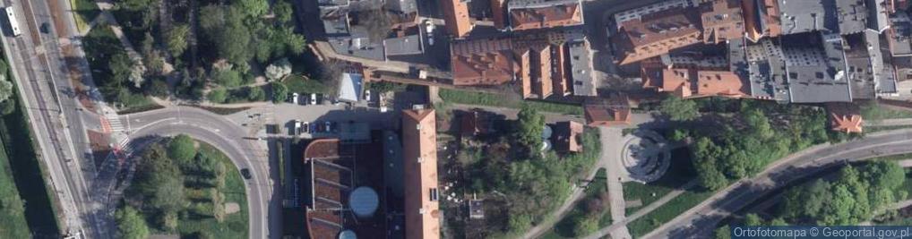 Zdjęcie satelitarne Flisacza ul.