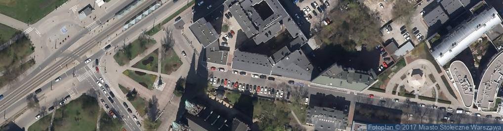 Zdjęcie satelitarne Floriańska ul.