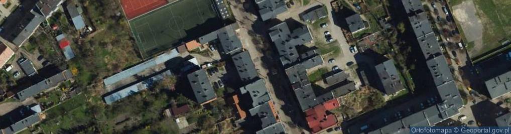 Zdjęcie satelitarne Forteczna ul.