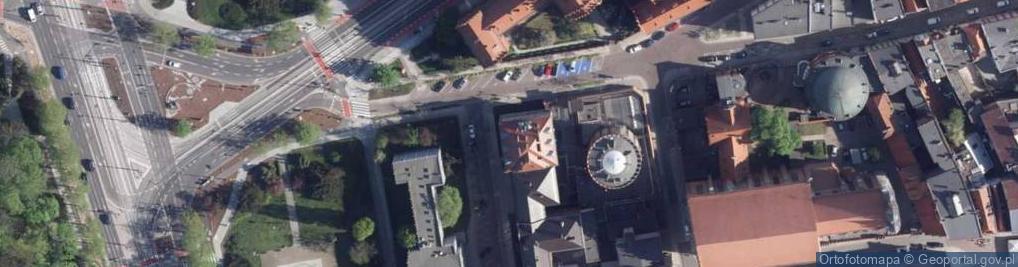 Zdjęcie satelitarne Fosa Staromiejska ul.