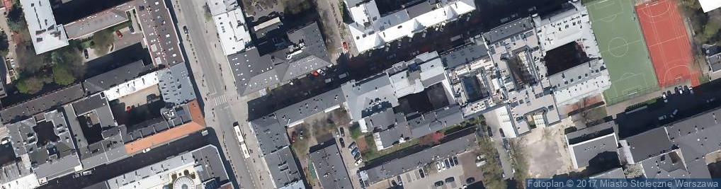 Zdjęcie satelitarne Foksal ul.