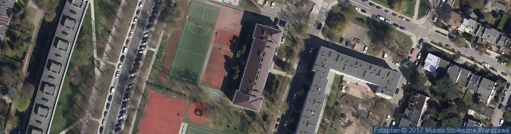 Zdjęcie satelitarne Fontany Antoniego ul.