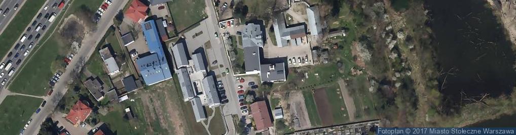 Zdjęcie satelitarne Fosa ul.