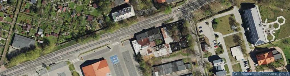 Zdjęcie satelitarne Frenzla Jana, ks. ul.