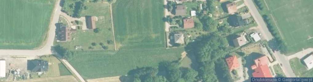 Zdjęcie satelitarne Frydrychowice ul.