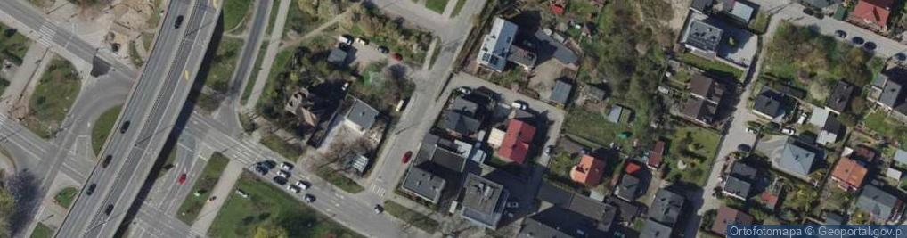 Zdjęcie satelitarne Frezerów ul.