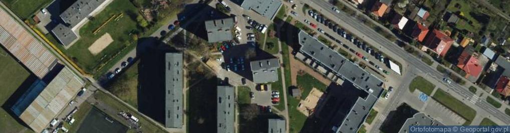 Zdjęcie satelitarne Frycza Modrzewskiego Andrzeja ul.