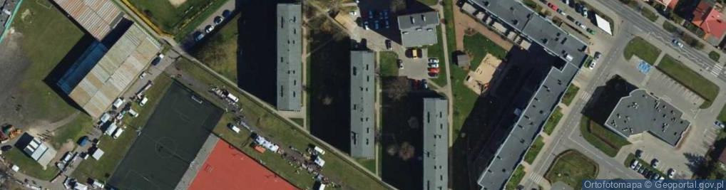 Zdjęcie satelitarne Frycza-Modrzewskiego Andrzeja ul.