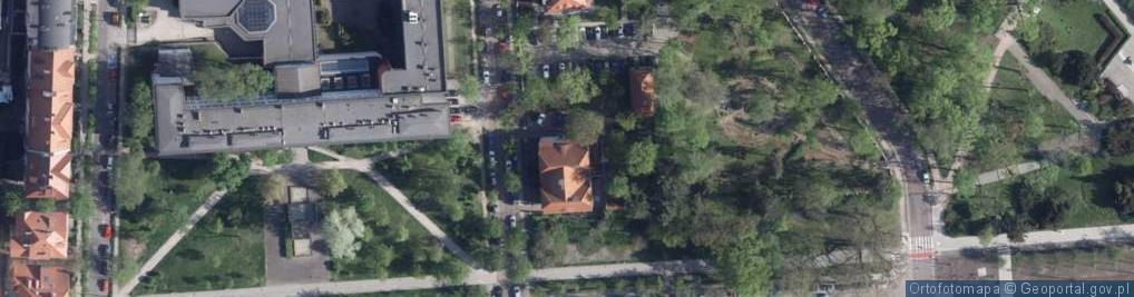 Zdjęcie satelitarne Fredry Aleksandra ul.