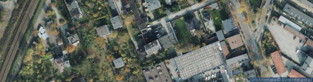 Zdjęcie satelitarne Galla ul.