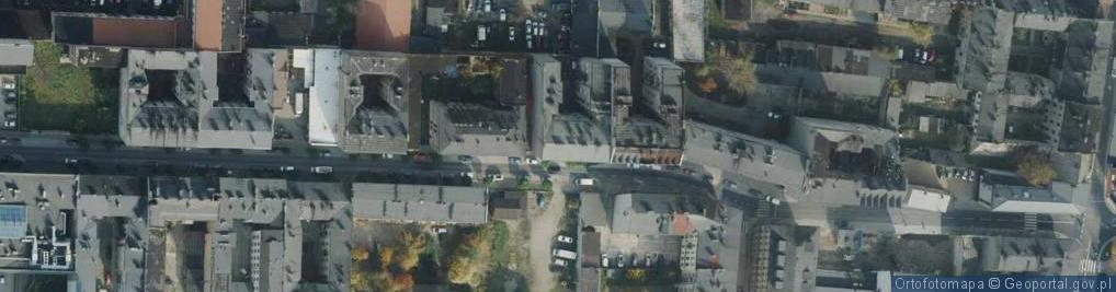 Zdjęcie satelitarne Garibaldiego ul.