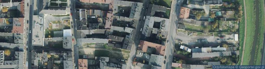 Zdjęcie satelitarne Garncarska ul.