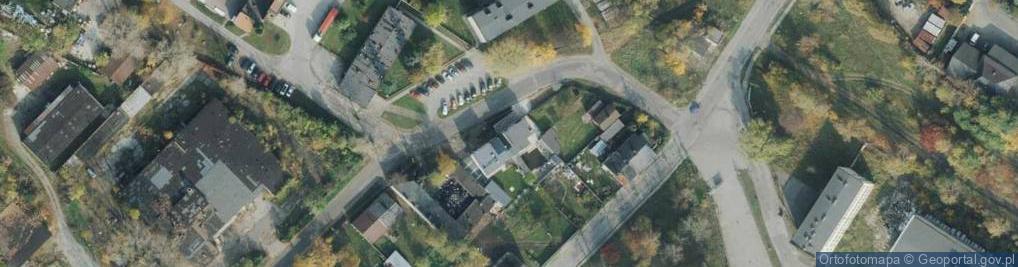 Zdjęcie satelitarne Gazowa ul.