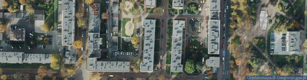 Zdjęcie satelitarne Gąsiorowskiego Janusza, gen. bryg. ul.