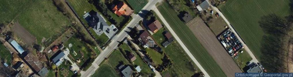 Zdjęcie satelitarne Gać ul.